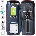 Sihirli Mikrofon Karaoke Aux SD Kart Girişli USB Giriş Radyolu Ka