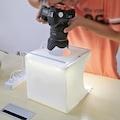 Triline Mini Stüdyo Led Işıklı Ürün Fotoğraf Çekim Çadırı Pratik