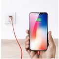 İphone Apple Samsung Huawei 3A Hızlı Şarj Kablosu Micro Type C