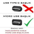 Syrox C91 Micro USB Samsung Xiaomi Hızlı Data ve Şarj Kablosu