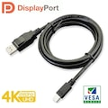 Paugge DP 1.2 VESA Sertifikalı 4K 60Hz Mini Displayport Kablo
