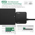 SATA USB 3.0 2.5 / 3.5 HDD SSD Sabit Disk Sürücü Dönüştürücü Kab