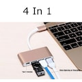 Type-C USB 3.1 to 3 Port USB Hub Çevirici Çoklayıcı Mac Ultrabook