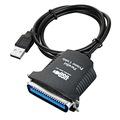 USB to LPT Çevirici Kablo - 1284 Paralel Yazıcı Printer Kablosu
