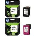 HP 302XL Siyah + HP 302XL Renkli  İkili Paket