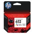 HP F6V24AE (652) ÜÇ RENKLİ MÜREKKEP KARTUŞU 200 SAYFA