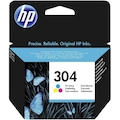 HP N9K05AE (304) ÜÇ RENKLİ MÜREKKEP KARTUŞU 100 SAYFA