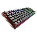 Rush PSYCHOLED Rk909 Tam RGB Metal Oyuncu Gaming Mekanik Klavye