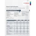 Bosch A+ İnverter Split Klima 12.000 btu/h B1ZMA/I12405