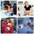Mini Klima Portatif Taşınabilir Soğutucu Klima Led  Ev Ofis Oto