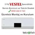 Vestfrost VF 12000 Btu A+ Plus İnverter Klima 12 lik