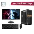 "INTEL CORE İ5-650 8GB 120GB 21,5"" MONİTÖR FULL MASAÜSTÜ PC"