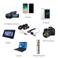 YouTuber Dslr,Pc,Cep Telefonu Yaka Mikrofonu Canon,Nikon,Sony