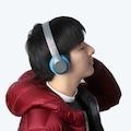 P47 WİRELESS KABLOSUZ BLUETOOTH KULAKLIK MP3 GÜÇLÜ BASS FM RADYO