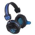 RUSH RH5 3.5 mm Led Siyah/Mavi Mikrofonlu Kulaklık