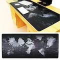 World Map Gaming Dünya Desenli Oyuncu Mouse Pad 70 x 30 Cm Dev Bo