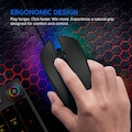 Philips SPK9313 2400dpi Gaming Mouse 7RENK  OYUNCU MOUSE
