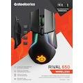 SteelSeries Rival 650 Kuantum Wireless Kablosuz RGB Gaming Mouse