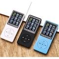✅ DİGİTAL EKRANLI MP3-MP4 ÇALAR FM RADYOLU 4 GB DAHİLİ HAFIZALI