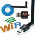 300 Mbps Wireless İnternet Kablosuz Antenli Adaptör Ağ USB Wifi