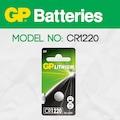 Gp Cr1220 3V Alkalin Düğme Pil (Saat-Kumanda-Baskül)