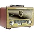 Meier M-115BT Bluetoot-Kumanda Şarjlı Nostaljik Radyo