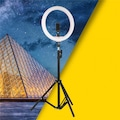 10 inç Halka LED Tripod Youtuber Video Selfie Stüdyo Makyaj Işığı