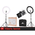 GDX PRO Ring Light 85W Bicolor Ring Işık Youtuber Kit,Makeup Kit
