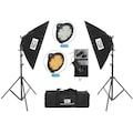 GDX PRO TLB LED 500 Youtuber Led Video Işık Seti Softbox Kit