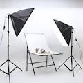 YouTube Video ve Fotoğraf 2li Softbox Seti Sürekli Işık 50x70
