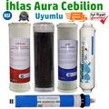 İhlas Aura Cebilion Su Arıtma 5 li set İhlas Aura cebilion filtre