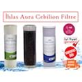 İhlas Aura cebilion Su Arıtma Üçlü Ön filtre Seti Uyumlu Muadil