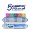 Piksel Aqua Su Arıtma Cihazı 5 li Combo Mineral Filtre