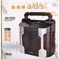 Taşınabilir Bluetooth AUX USB FM Hoparlör a/d/s/ Mikrofon Kareok