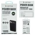 Kensa 10000 Mah Dijital Göstergeli Hızlı Şarj Destekli Powerbank
