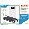 Syrox 12000mAh Powerbank Led Panelli 2 Usb Çıkışlı – PB104
