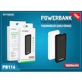 Syrox 5000mAh Ultra Slim Hafif Powerbank – PB116 (YENİ)