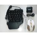 PUBG Klavye Mouse Oyuncu Set JCHF-68 Fonksiyon Göstergeli Klavye