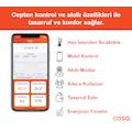 Cosa Akıllı Oda Termostatı Kablosuz Kombi Kontrolü