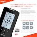 GENERAL HT500 SET Akıllı Kablosuz Oda Termostatı