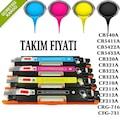 HP CB540A/CF210A/CE320A/128A/125A/CRG716/CRG731 Toner TAKIM