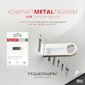 Powerway Metal Usb 2.0 Flash Bellek 8 16gb  32gb 64gb 128gb Flash