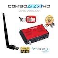 Hiremco Combo King Mini Hd Uydu Alıcısı 2020 Yeni Wifi Adaptör