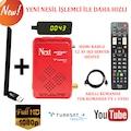 ☑️ Next Kanky Full Hd Uydu Alıcı + AKILLI KUMANDA + Wifi Adaptör