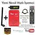 Next Kanky Full Hd Uydu Alıcı + AKILLI KUMANDA  Wifi Adaptör