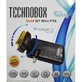 TECHNOBOX GOLD Q7 MİNİ SCART FTA UYDU ALICISI (TKGS ÖZELLİKLİ)
