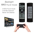 TriLine MX3 Pro TÜRKÇE Air Mouse Smart TV  Ses Destekli Kumanda