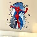 Örümcek Adam Spiderman Fantasik 3 Boyutlu Dev XXL Çocuk Odası Duv