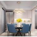 Luxury Modern Sarkıt Power Led Avize Concept Ürün Ilık Beyaz Işık