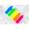 POSTİT PARMAK Sayfa Ayracı 5 Renk Plastik 12 Adetli PK. Homix